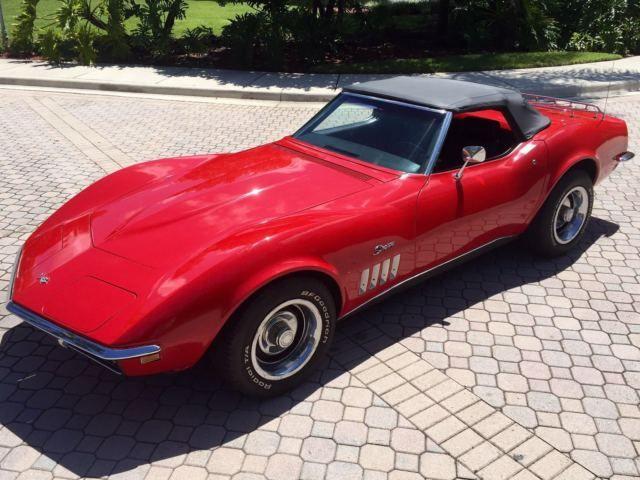 1969 Corvette Convertible 350CI Small Block