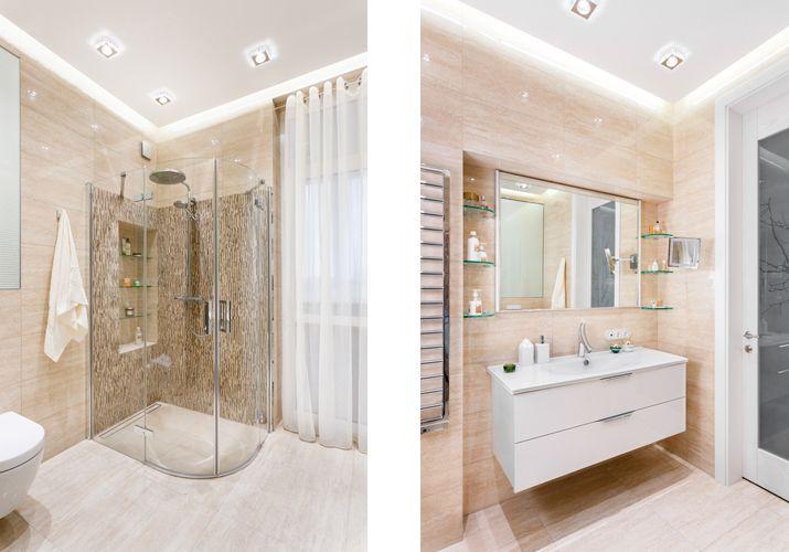 Ванная в квартире, выполненной в экостиле