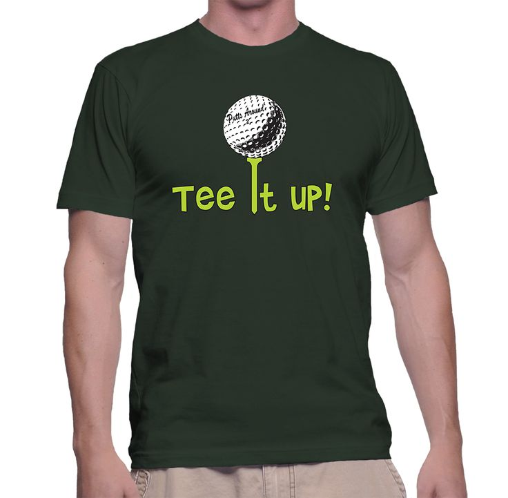 Tee It Up $23.25 Top Quality Tees designed by golfers for golfers. Be sure to use our Storenvy discount code PA2015 for our Holiday savings of 25% off!