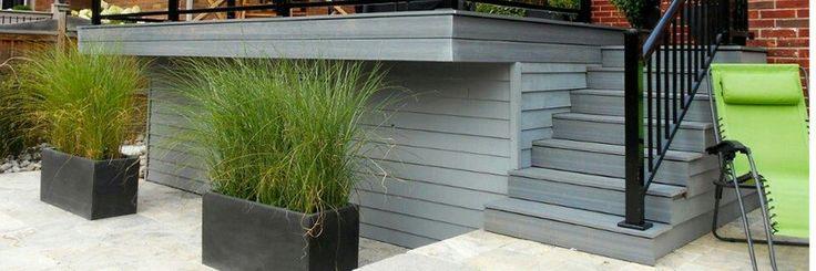 59 best Terrasse bois images on Pinterest Decks, Balconies and - couler une terrasse en beton
