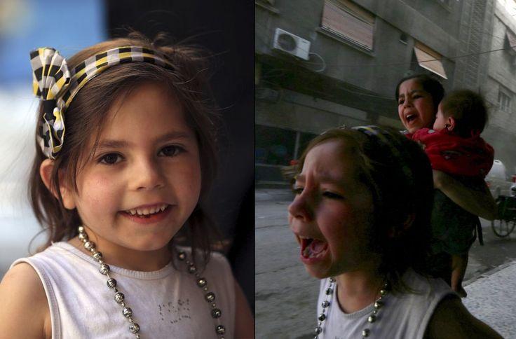 "Foto: Ketika kebahagiaan warga Suriah yang tengah menerima bantuan kemanusiaan berubah menjadi tangisan pilu  DAMASKUS (Arrahmah.com) - Konvoi bantuan kemanusiaan dari Bulan Sabit Merah yang membawa bantuan medis dan perlengkapan untuk dukungan psikologis kepada anak-anak yang terkena dampak perang tiba di kawasan Douma Damaskus Suriah (6/5/2015).  Fotografer dari kantor berita Reuters Bassam Khabieh mengabadikan momen tersebut.  ""Setiap kali konvoi bantuan memasuki Ghouta Timur anak-anak…"