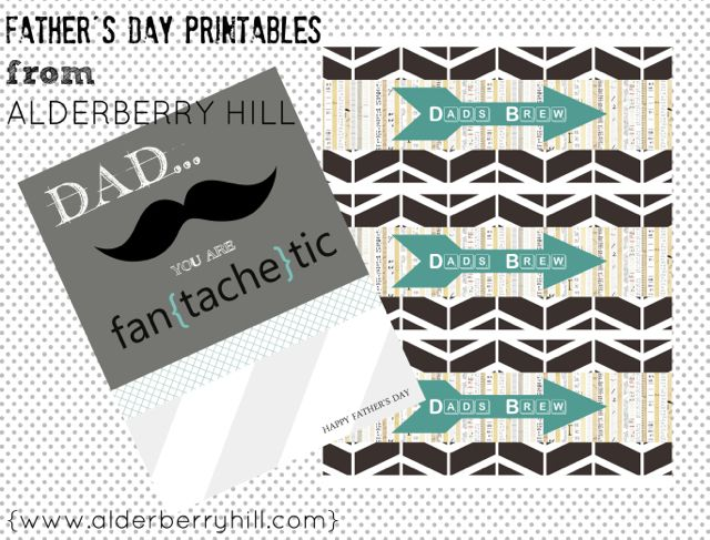 Father's Day Card, Fan{tache}tic