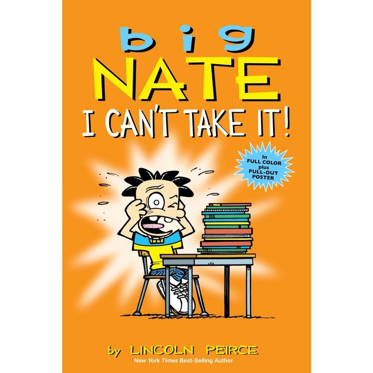 Big nate paperback by lincoln peirce big nate books