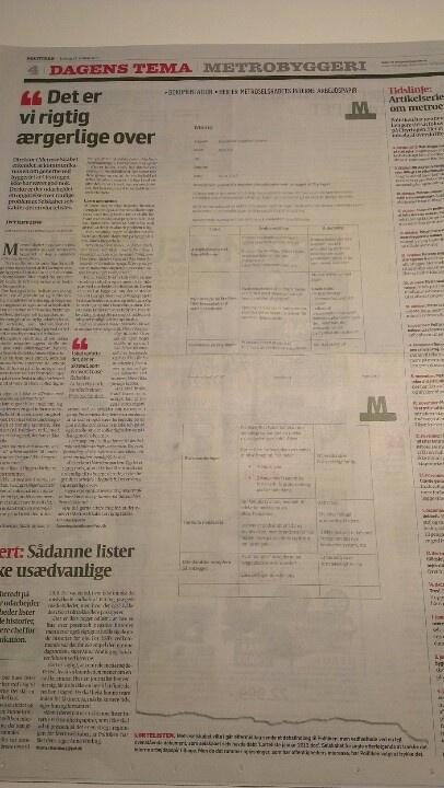 MetroSelskabets interne arbejdspapir (Politiken, 13. januar 2013, side 4) er et klassisk eksempel på omtale-flåter. Det erkendes at omtale-skovflåter (potentielle negative historier) lever i medielandskabet, men helt klassisk røbes også en 'flyverskjuls-strategi'. Overvejer at tage eksemplet med i min kommende bog om Skovflåtmodellen (udkommer senere på året).