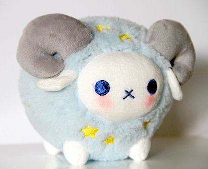 Soram Little star ram plush | sorbetjungle - Limited Run on ArtFire.    Kawaii stuffed plushies