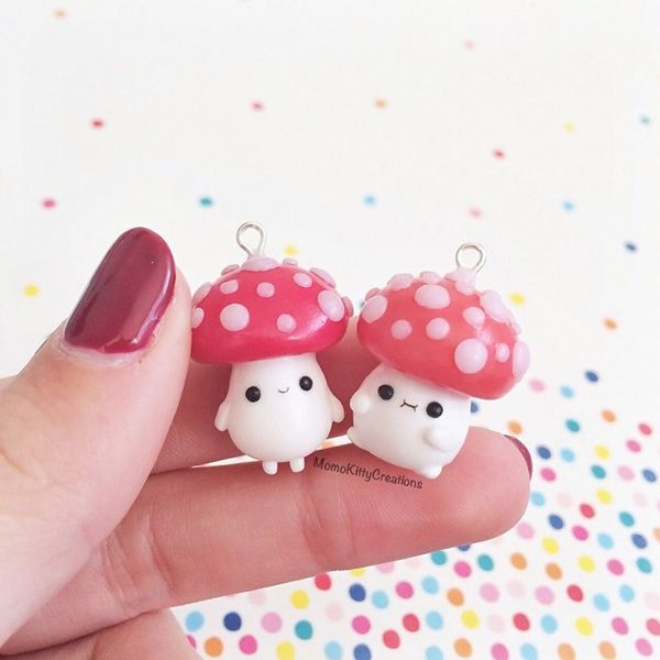 Let's go Mushroom Hunting - Momo Kitty Creations