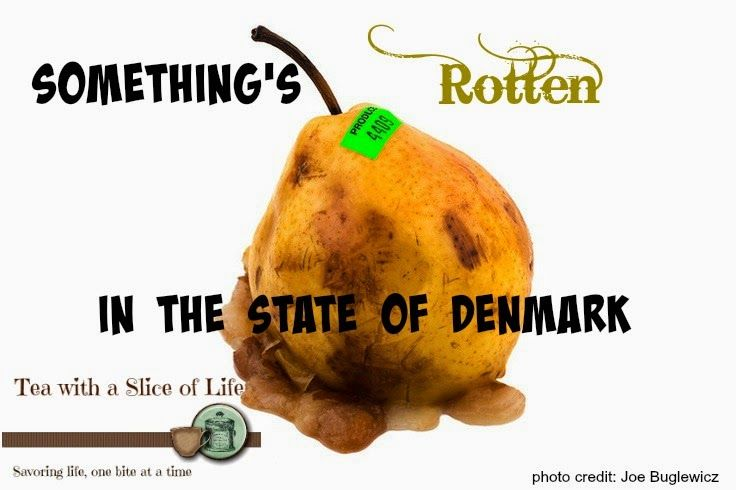 the rotten state of denmark as portrayed in the play hamlet Transcript of something is rotten in the state of denmark (shakespeare 1 something is rotten in the state of denmark  we share with hamlet a knowledge of the.