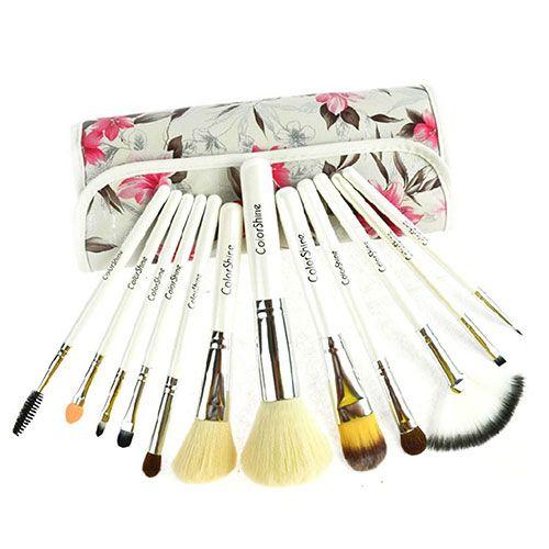 12 pcs Cosmetic Makeup Brushes Set Kit with
