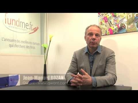 Les moteurs de recherche n'explorent qu'une petite partie de l'Internet. Forts de ce constat, Jean--Manuel Rozan et Eric Léandri ont créé en 2011 Qwant, qui -parcourt plusieurs univers : « Tout le Web sous vos yeux, le live, les médias, les réseaux sociaux et le shopping. Qwant explore les -réseaux sociaux comme Twitter, Facebook, LinkedIn, Viadeo, -Pinterest, Tumblr... »  A retrouver sur http://www.fundme.fr , plateforme qui connecte startups en levée de fonds et investisseurs.