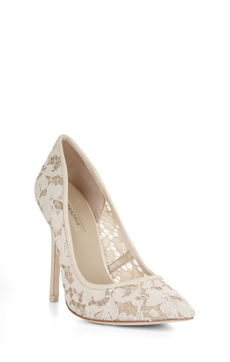b34ae529f5479 ... High-Heel Lace Pointed-Toe Pump and other apparel