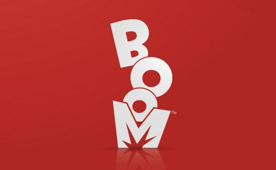 Boom logo design on Logostack. Great resource of logos for inspiration.