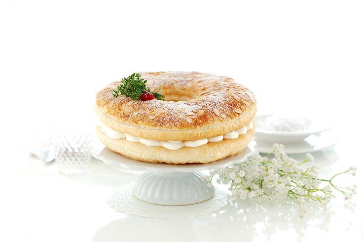 Roscón de Reyes de hojaldre, súper fácil