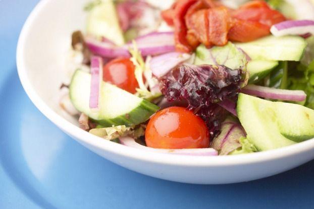Salade d'été au Caprice des Dieux
