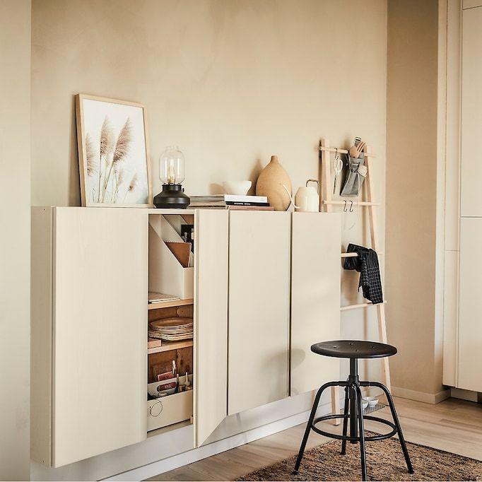 Rustgevende Woonkamer Als Oase Van Rust Ikea Ivar In 2019