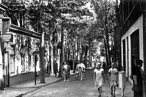 Kerkstraat Zandvoort (jaartal: 1950 tot 1960) - Foto's SERC