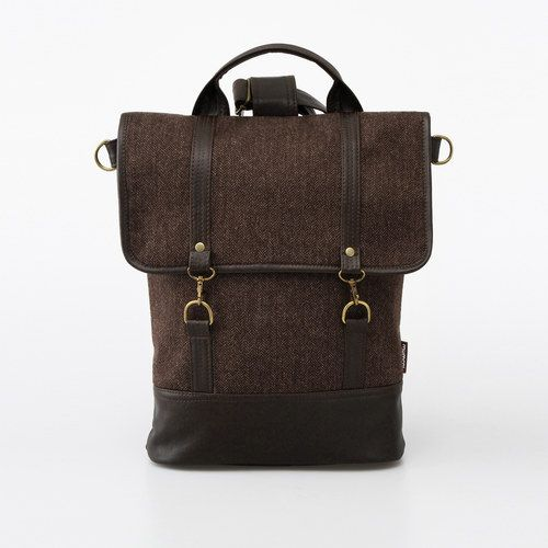 Bagpack Tweedy Brown