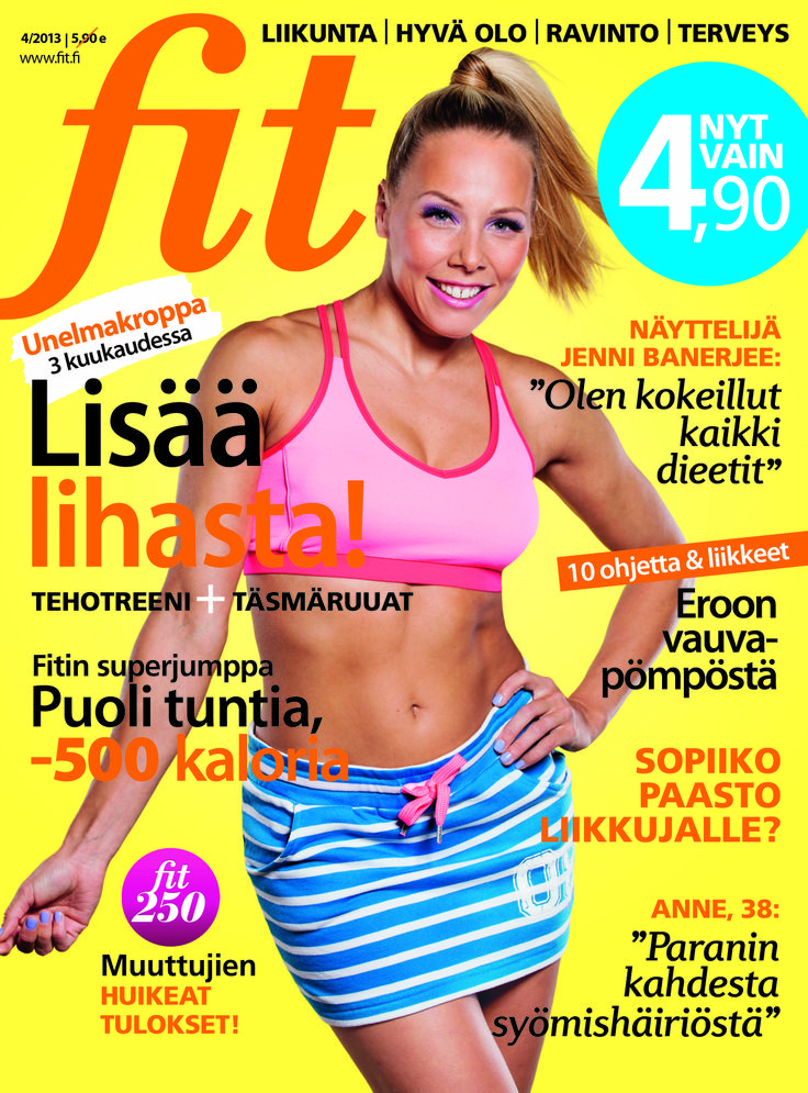 Fit 4/2013 #fitlehtii #kansi