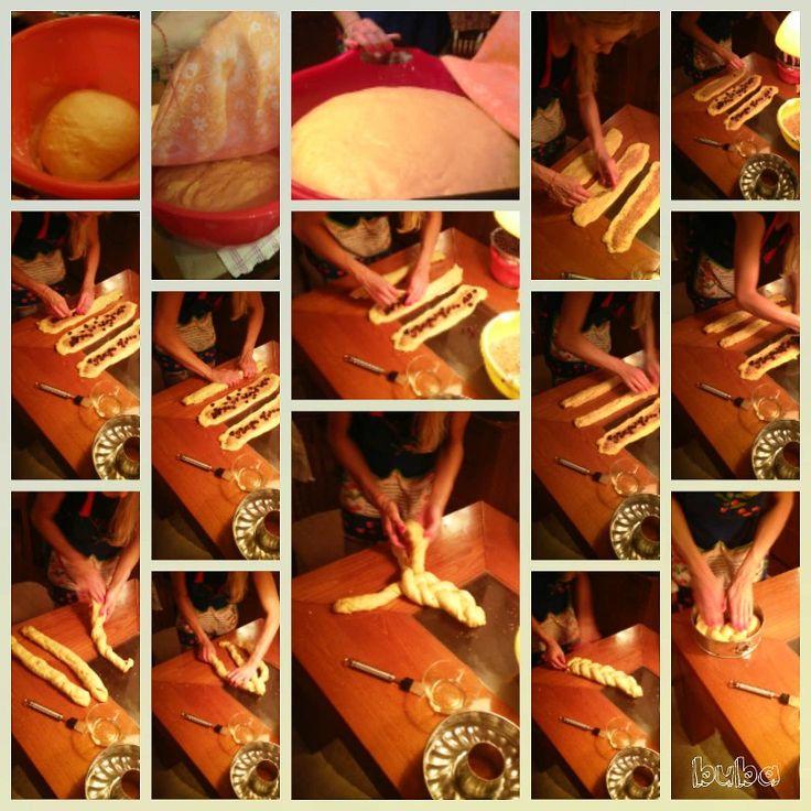 Easter Bread- Basic Steps