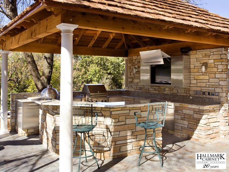 Rustic Outdoor Kitchen Designs Fair Design 2018