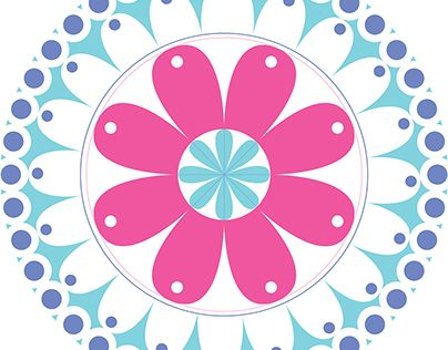 "Check out new work on my @Behance portfolio: ""Flower Mandala"" http://be.net/gallery/45318475/Flower-Mandala"