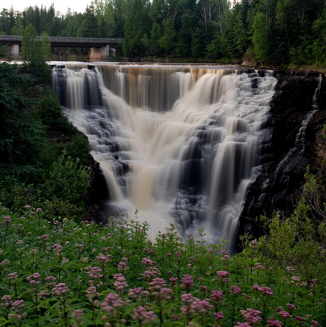 Kakabeca falls, Thunder Bay, Ontario. l want to go see this place one day.Please check out my website thanks. www.photopix.co.nz