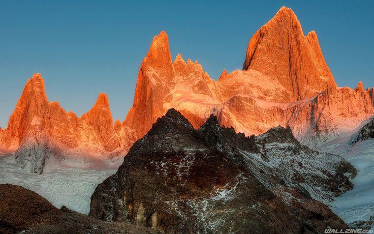 el chalten patagonia Wallpaper El chalten, Argentina, La
