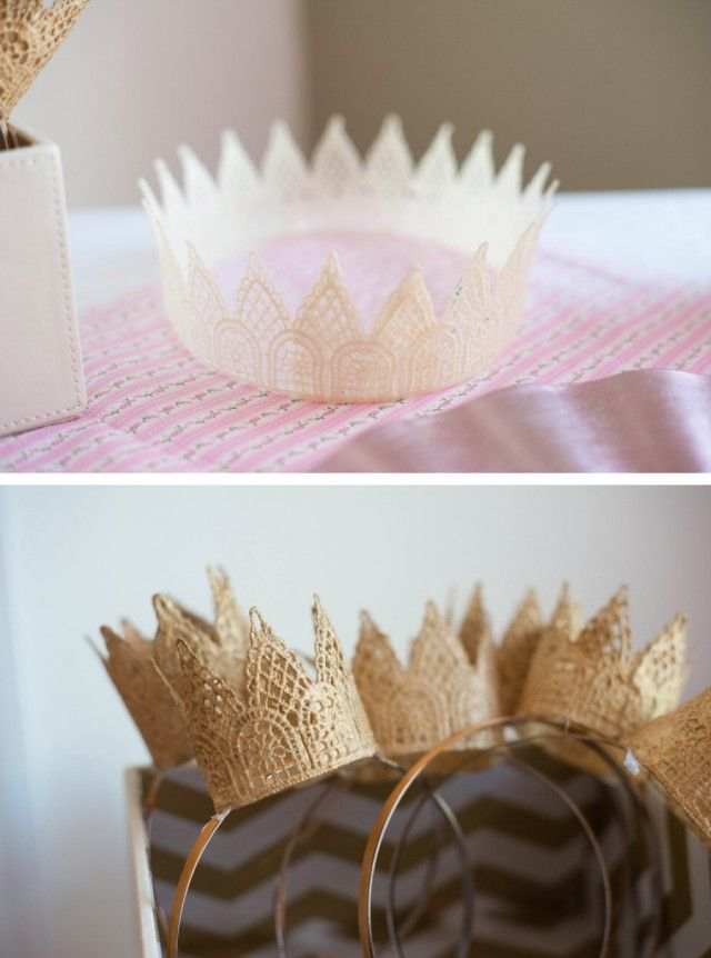 A Whimsical & Sweet Ombre Princess Party : Anders Ruff Custom Designs :