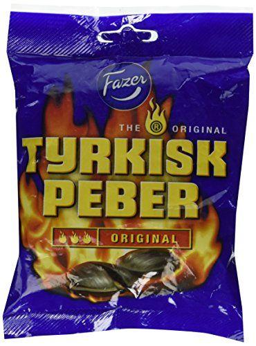 Fazer Tyrkisk Peber Original Hot Salmiak & Pepper Candy