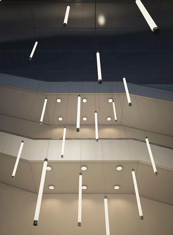 Suspended light fixture / LED / linear - TUBE DOWN - Buck d.o.o.