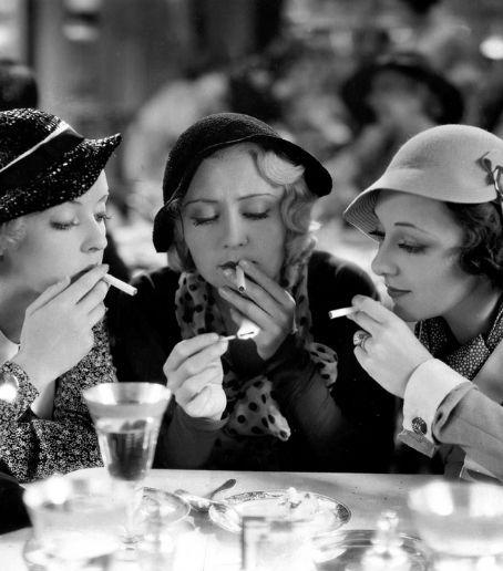 Joan Blondell , Ann Dvorak and Bettie Davis from their film Three On A Match