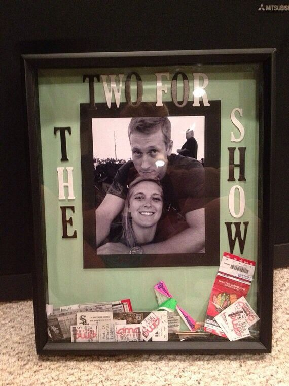 Keep The Memories Alive With These Cute Ticket Stub Crafts/keepsakes ❤️