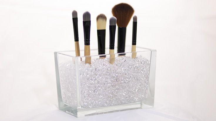 Make-up Pinsel Aufbewahrung