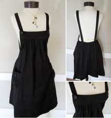 how to make a pinafore dress pattern