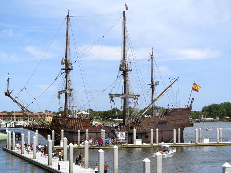 El Galeon - Reproduction of Spanish galleon - same type Ponce de Leon and Juan Pedro Menendez used