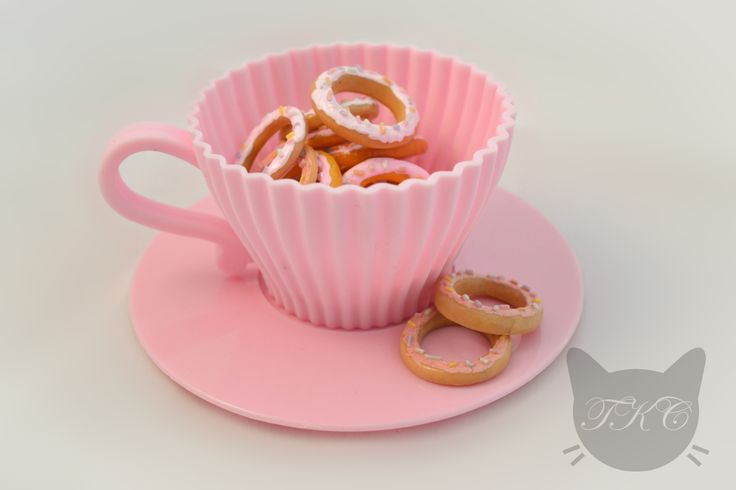 Super cute pastel donut rings! Handmade and available for purchase soon in all different sizes.