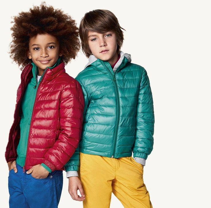 #Benetton #SS17 #collection #trend #fashion #kids #boy #color #jacket