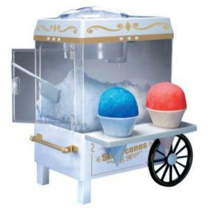 party penguin snow cone maker instructions
