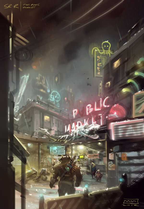 Shadowrun Returns (SR:R) is a PC game funded through Kickstarter (in the period up to April 29, 2012). The game was created by Harebrained Schemes, LLC and original creator Jordan Weisman. The game was released in July 25, 2013. For Windows/OSX/Linux players, the game is downloadable via Humble Store, Steam or GOG.com.