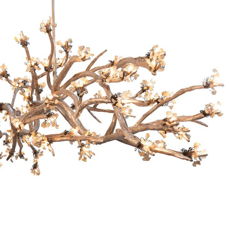 allan knightlighting chandeliers brandolini branch chandelier custom lighting pinterest. Black Bedroom Furniture Sets. Home Design Ideas