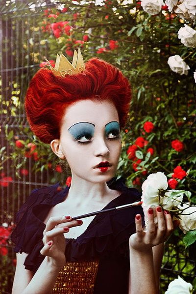 fullcosplay COSPLAY the Red Queen / Tim Burton\u0027s Alice in Wonderland