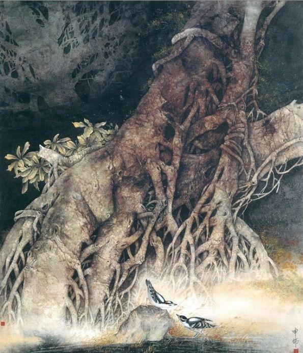 Китайский художник Shen Wei, Красота