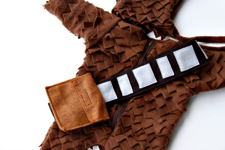 DIY Chewbacca Costume Maybe for this next Halloween?