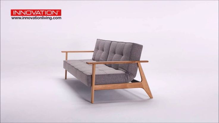 Splitback Frej is a Danish designed sofa bed for small living spaces
