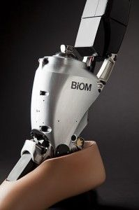 Power Foot BiOM, by SRT Prosthetics. This company is doing amazing things in human bionics