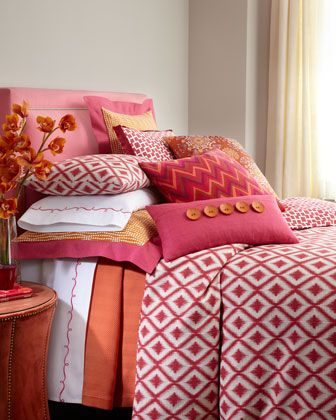 """Un Poco Busy"" Bed Linens by Pine Cone Hill"