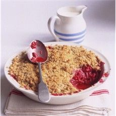Delia's Raspberry Crumble