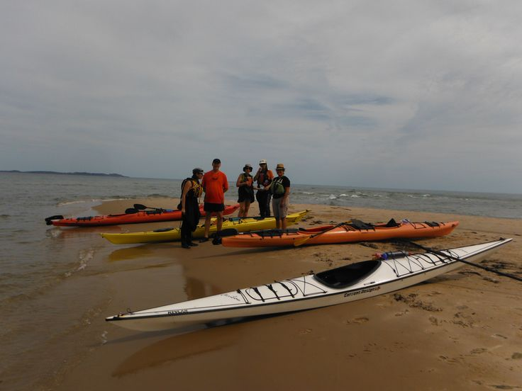 kayak de mer aux Iles-de-la-Madeleine