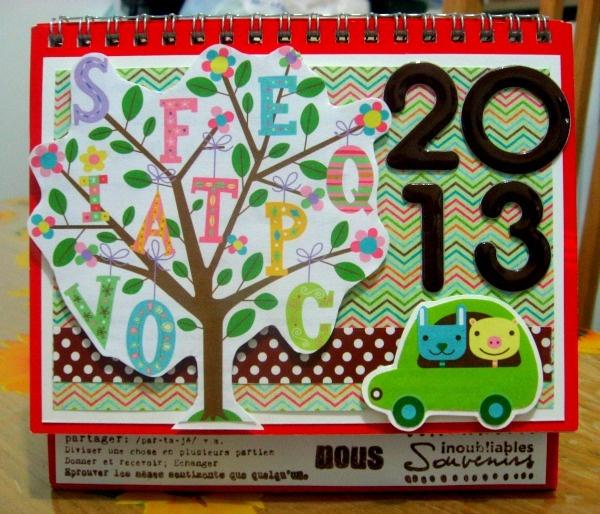 2013 altered calendar (cover)