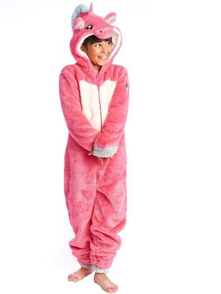 Soft Furry Pink Unicorn Onesie Kids by #BEGUMMY – BeGummy