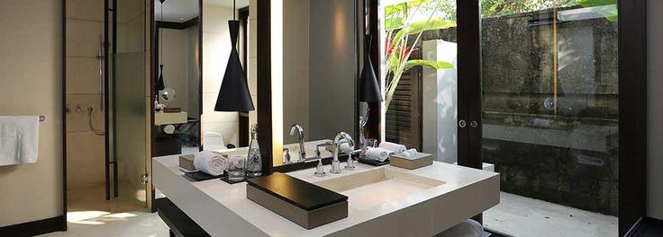 Alila Villas Soori Bali One Bedroom Mountain Pool Villa Room 304 - Bathroom